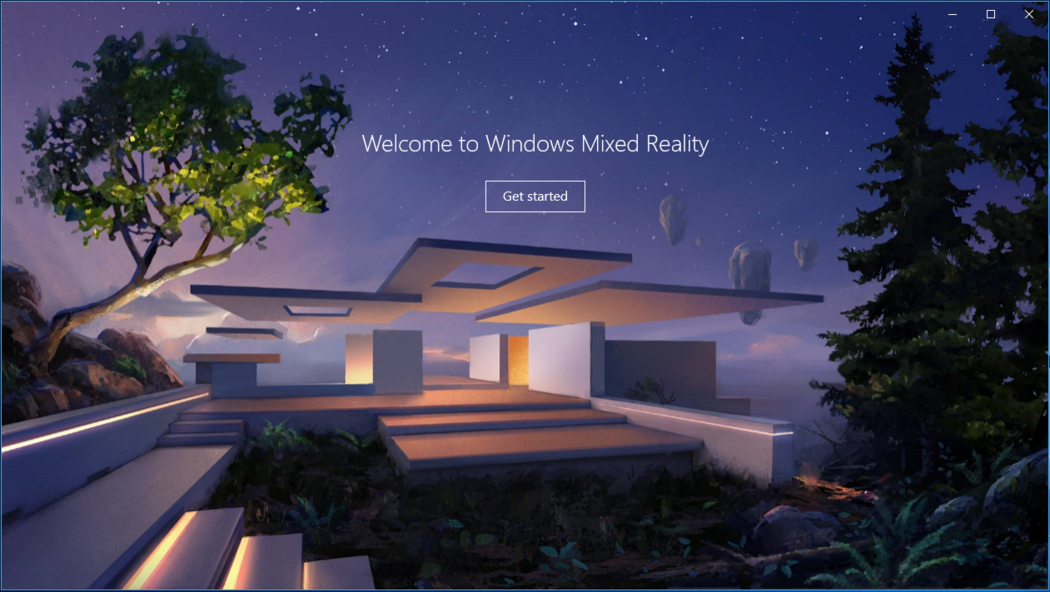 First-Time Setup with Windows Mixed Reality (MR) Headsets